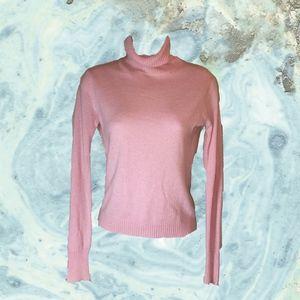 Pink cashmere sweater J. Crew
